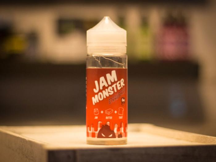 Jam Monster Strawberry Liquid