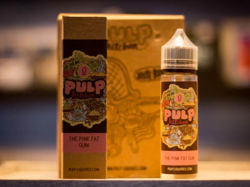 Pulp Kitchen Pink Fat Gum Liquid E-Zigarette