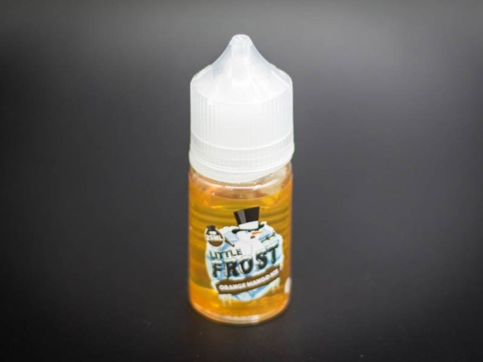 dr frost liquid orange mango ice