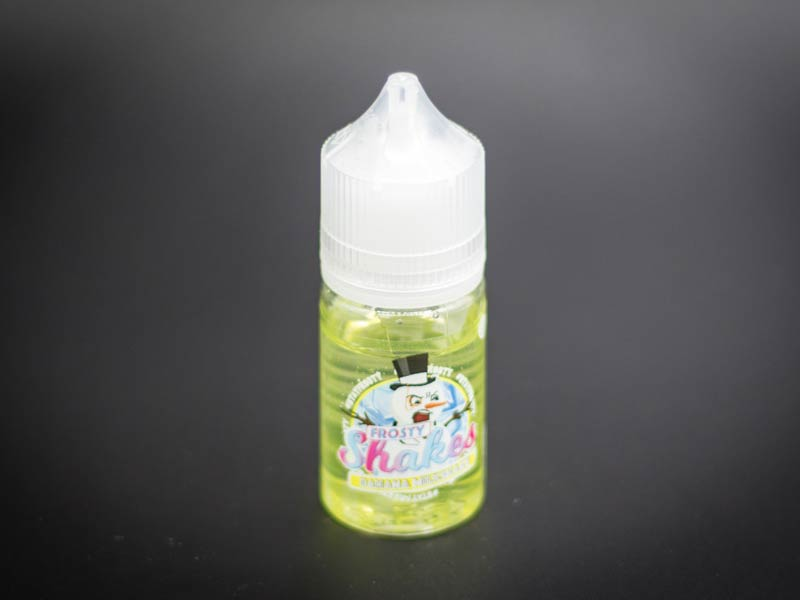 dr frost e-liquid frosty shakes banana milkshake