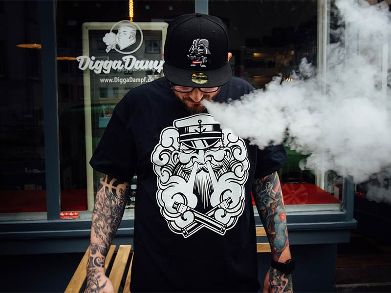 T-Shirt Viva la Dampf