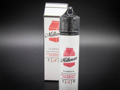 milkman strawberry churrios liquid