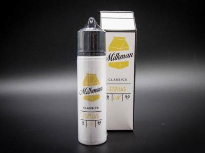 milkman vanilla custard liquid