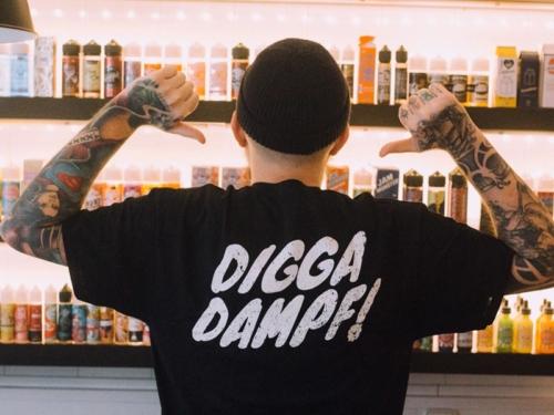 diggadampf t shirt