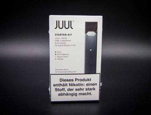 JUUL E-Zigarette jetzt verfügbar
