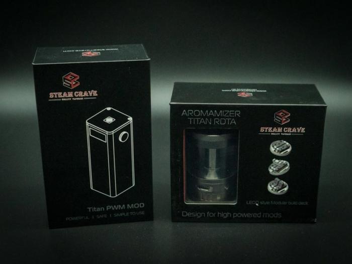 steam crave titan kit