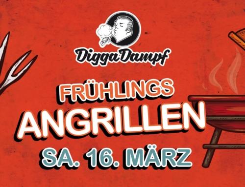 DiggaDampf Frühlingsangrillen 2019