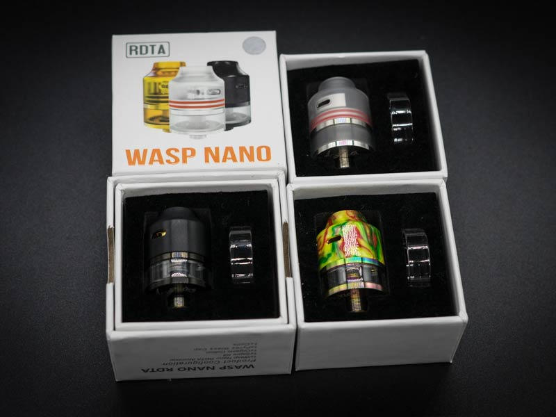 wasp nano rdta