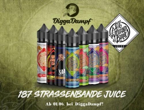 187 Strassenbande Liquid – ab 31.05. bei DiggaDampf