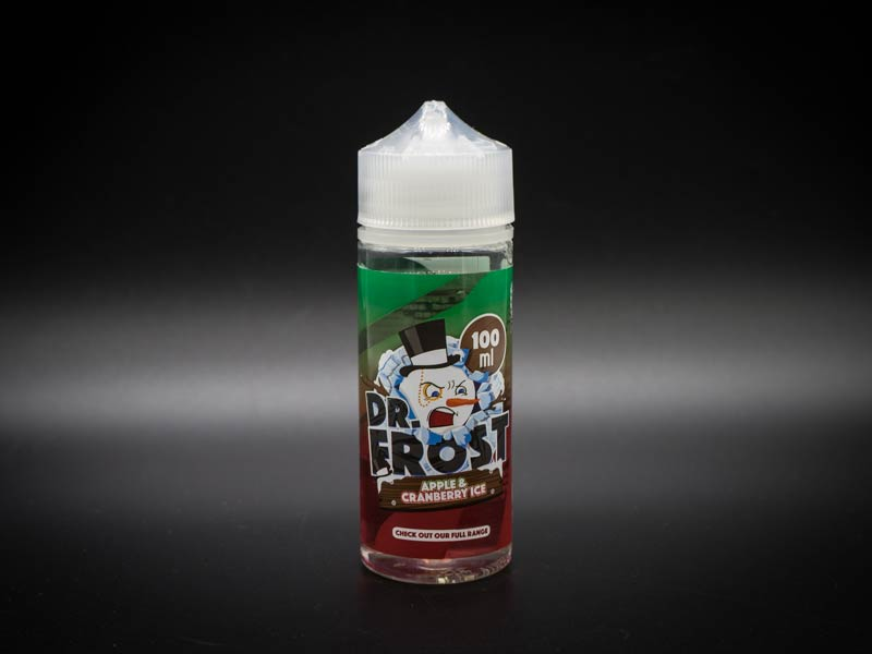 dr frost apple cranberry ice