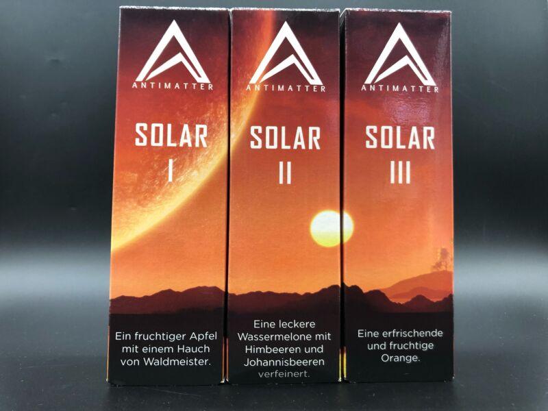 Antimatter Solar